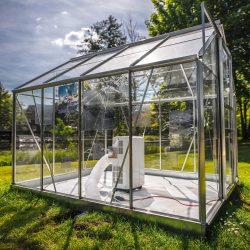 Andrea Grote: O.T.change-Installation-2017-Lübben-Schlosspark