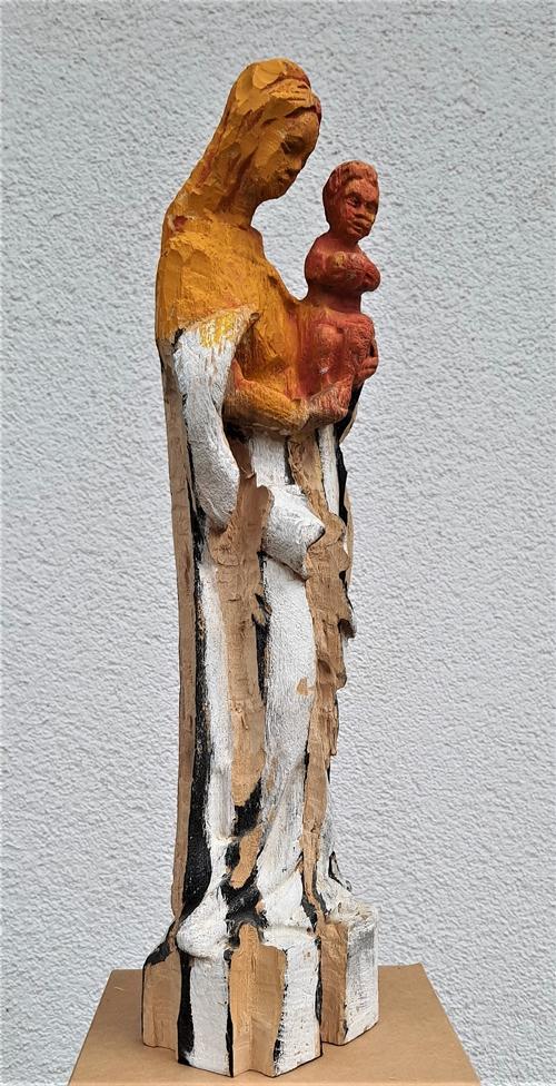 Andrea Grote O.T (Maria III) Seitenansicht, 2020
